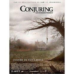 Couverture de Conjuring : Les dossiers Warren