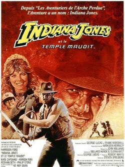 Couverture de Indiana Jones II : Le temple maudit