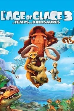 Couverture de L'Âge de glace, Épisode 3 : Le temps des dinosaures