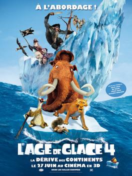 Couverture du livre : L'Âge de glace, Épisode 4 : La dérive des continents