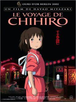 Couverture de Le Voyage de Chihiro