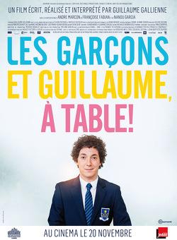 Couverture de Les garçons et Guillaume, à table !