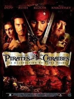 Couverture de Pirates des Caraïbes, Épisode 1 : La Malédiction du Black Pearl