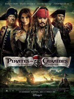 Couverture de Pirates des Caraïbes, Épisode 4 : La Fontaine de Jouvence
