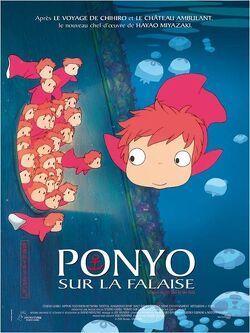 Couverture de Ponyo sur la falaise