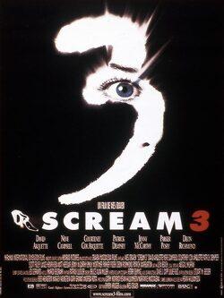 Couverture de Scream 3