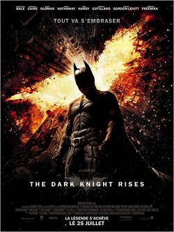 Couverture de The Dark Knight Rises