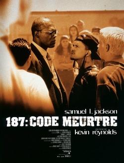 Couverture de 187 : Code meurtre