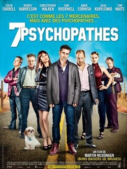 Couverture de 7 Psychopathes