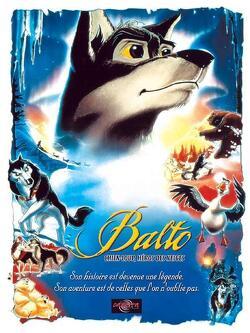 Couverture de Balto chien-loup, héros des neiges
