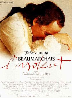 Couverture de Beaumarchais, l'insolent