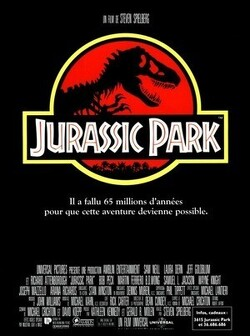 Couverture de Jurassic Park