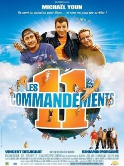 Couverture de Les 11 commandements