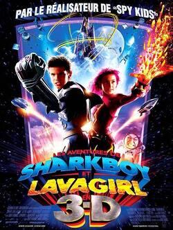 Couverture de Les Aventures de Shark Boy et Lava Girl