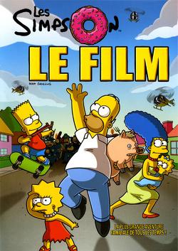 Couverture de Les Simpson, Le film