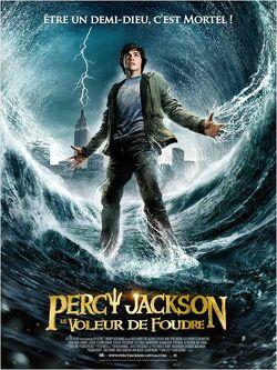 Couverture de Percy Jackson 1 : Le Voleur de foudre