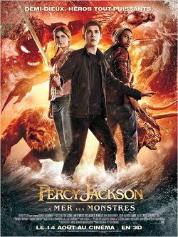 Couverture de Percy Jackson 2 : La mer des monstres