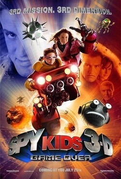 Couverture de Spy Kids, Épisode 3 : Mission 3D