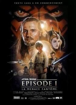 Couverture de Star Wars, Épisode 1 : La Menace fantôme