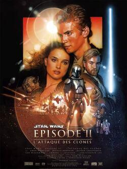 Couverture de Star Wars, Épisode II : L'Attaque des Clones
