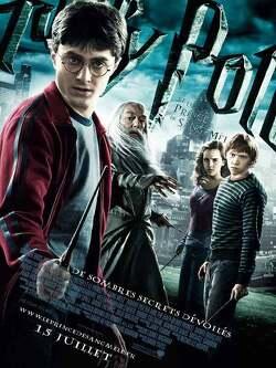 Couverture de Harry Potter, Épisode 6 : Harry Potter et le Prince de sang mêlé