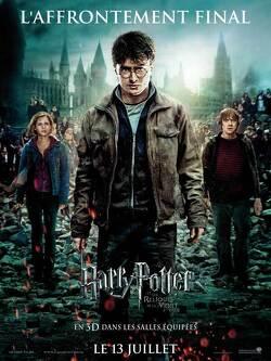 Couverture de Harry Potter, Épisode 7, Partie 2 : Harry Potter et les Reliques de la mort