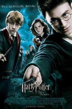 Couverture de Harry Potter, Épisode 5 : Harry Potter et l'Ordre du phénix