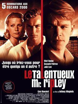 Couverture de Le Talentueux M.Ripley