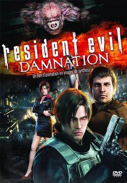 Couverture de Resident Evil: Damnation