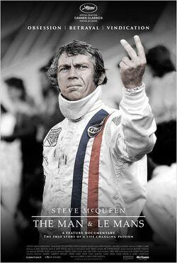 Couverture de Steve McQueen : The man & Le Mans