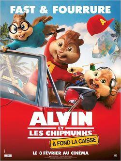 Couverture de Alvin et les Chipmunks 4