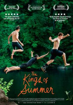 Couverture de The Kings of Summer