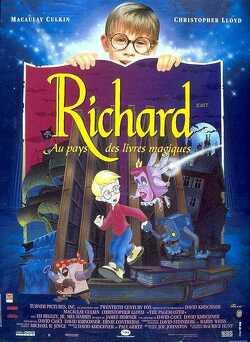 Couverture de Richard au pays des livres magiques