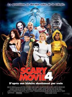 Couverture de Scary Movie 4