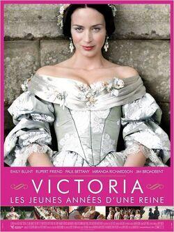 Couverture de Victoria, les jeunes années d'une reine
