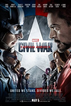 Couverture de Captain America, Civil War