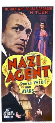 Couverture de Nazi Agent