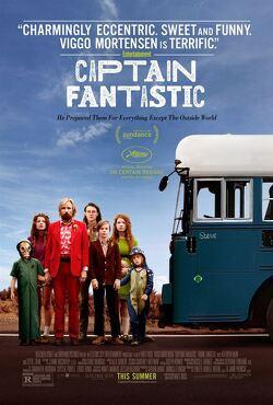 Couverture de Captain Fantastic