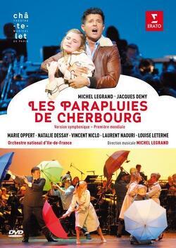 Couverture de Les parapluies de Cherbourg le musical
