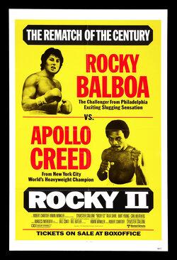 Couverture de Rocky II, La revanche