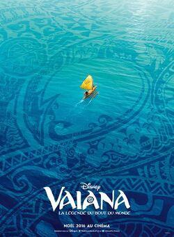 Couverture de Vaiana, La Légende du Bout du Monde