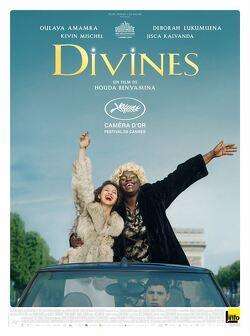 Couverture de Divines