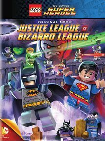 Couverture de Lego Justice League - Justice League vs. Bizarro League