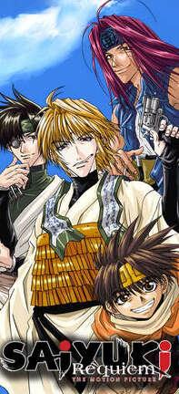 Couverture du livre : Saiyuki Requiem