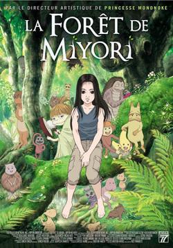 Couverture de La forêt de Miyori