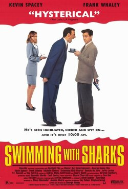 Couverture de Swimming with sharks