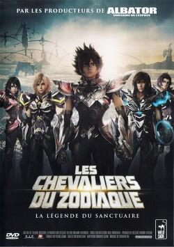Couverture de Les Chevaliers Du Zodiaque : La légende Du Sanctuaire