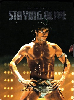 Couverture de Staying alive
