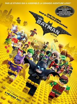 Couverture de Lego Batman - le film