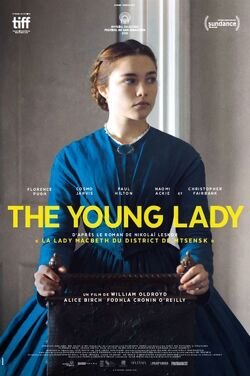 Couverture de The Young Lady